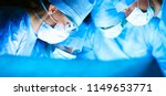 young surgery team in the... | Shutterstock . vector #1149653771