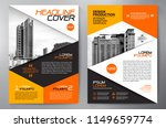 business brochure. flyer design.... | Shutterstock .eps vector #1149659774