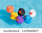 Six Colourful Rubber Ducks  A...