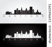 hartford  usa skyline and...   Shutterstock .eps vector #1149661091