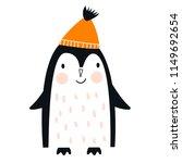cute hand drawn nursery poster... | Shutterstock .eps vector #1149692654