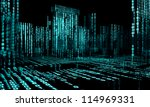 3d abstract architecture... | Shutterstock . vector #114969331