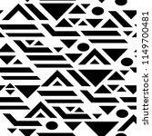 seamless pattern black... | Shutterstock .eps vector #1149700481