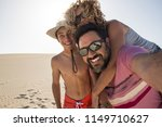 happy family taking selfie...   Shutterstock . vector #1149710627