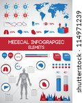 medical infographics. human... | Shutterstock .eps vector #114971239