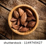 Top View Of Pili Nuts From The...