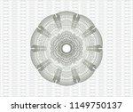 green rosette or money style... | Shutterstock .eps vector #1149750137
