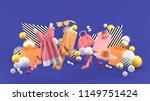 dresses  pants  sweatshirts ...   Shutterstock . vector #1149751424