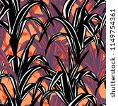 bold abstract jungle background ... | Shutterstock .eps vector #1149754361