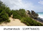 scenic coastal hiking trail in... | Shutterstock . vector #1149766631