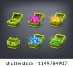 set of cartoon colorful... | Shutterstock .eps vector #1149784907