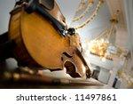 violin   symphony concert in... | Shutterstock . vector #11497861