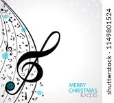new year musical background... | Shutterstock .eps vector #1149801524