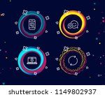 set of message  internet...   Shutterstock .eps vector #1149802937