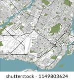 vector map of the city of... | Shutterstock .eps vector #1149803624