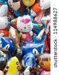 rotterdam   july 28  balloons a ... | Shutterstock . vector #114988627