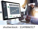 reputation popular ranking... | Shutterstock . vector #1149886517