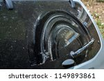dirty car view rear glass of a  ... | Shutterstock . vector #1149893861