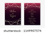 wedding invitation cards... | Shutterstock .eps vector #1149907574