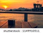 sunset of victoria harbor of...   Shutterstock . vector #1149910511
