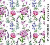 seamless pattern from summer... | Shutterstock . vector #1149911411