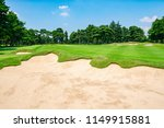 panorama view of golf course... | Shutterstock . vector #1149915881