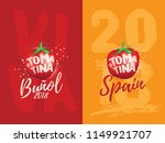 vector art for tomatina... | Shutterstock .eps vector #1149921707