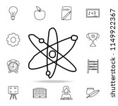 atomic elements sketch icon....   Shutterstock .eps vector #1149922367