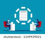 file transfer technology....   Shutterstock .eps vector #1149929021