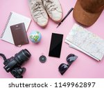 travel accessories tourism mock ... | Shutterstock . vector #1149962897