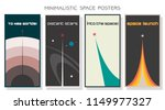 vector minimalistic space... | Shutterstock .eps vector #1149977327
