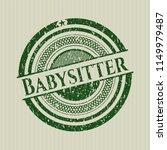 green babysitter distress... | Shutterstock .eps vector #1149979487