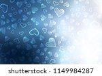 light blue vector texture with... | Shutterstock .eps vector #1149984287