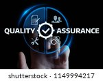 quality assurance service... | Shutterstock . vector #1149994217