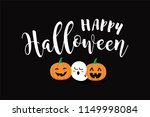 happy halloween vector text... | Shutterstock .eps vector #1149998084