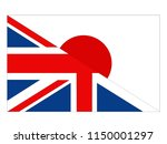 vector illustration of british... | Shutterstock .eps vector #1150001297
