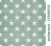 seamless stars pattern in retro ... | Shutterstock .eps vector #115000315