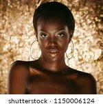 stunning portrait of an african ... | Shutterstock . vector #1150006124