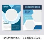 creative simple flyer design.... | Shutterstock .eps vector #1150012121