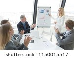 business people team at... | Shutterstock . vector #1150015517