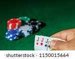 casino games concept poker... | Shutterstock . vector #1150015664