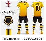 soccer jersey or football kit... | Shutterstock .eps vector #1150015691