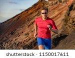 fit runner man sport athlete...   Shutterstock . vector #1150017611