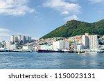 beautiful view of busan in...   Shutterstock . vector #1150023131