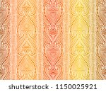 maori tribal pattern vector... | Shutterstock .eps vector #1150025921