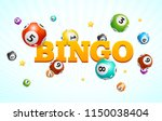 realistic detailed 3d lotto... | Shutterstock .eps vector #1150038404