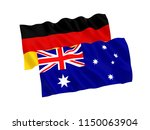 national fabric flags of... | Shutterstock . vector #1150063904
