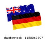 national fabric flags of... | Shutterstock . vector #1150063907