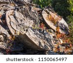 ruins of a former mine english... | Shutterstock . vector #1150065497