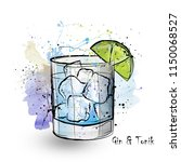 hand drawn illustration of... | Shutterstock . vector #1150068527
